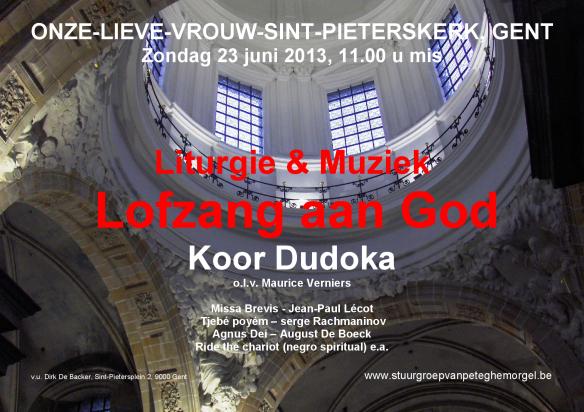 OLV Sint-Pieterskerk Gent Dudoka 23 06 2013