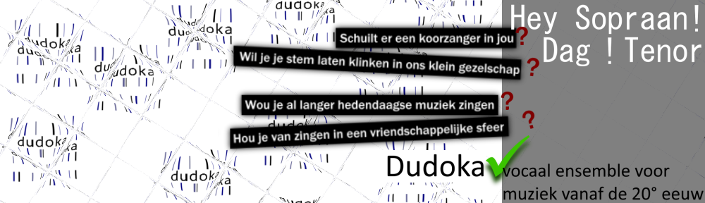dudoka | vocaal ensemble | gent